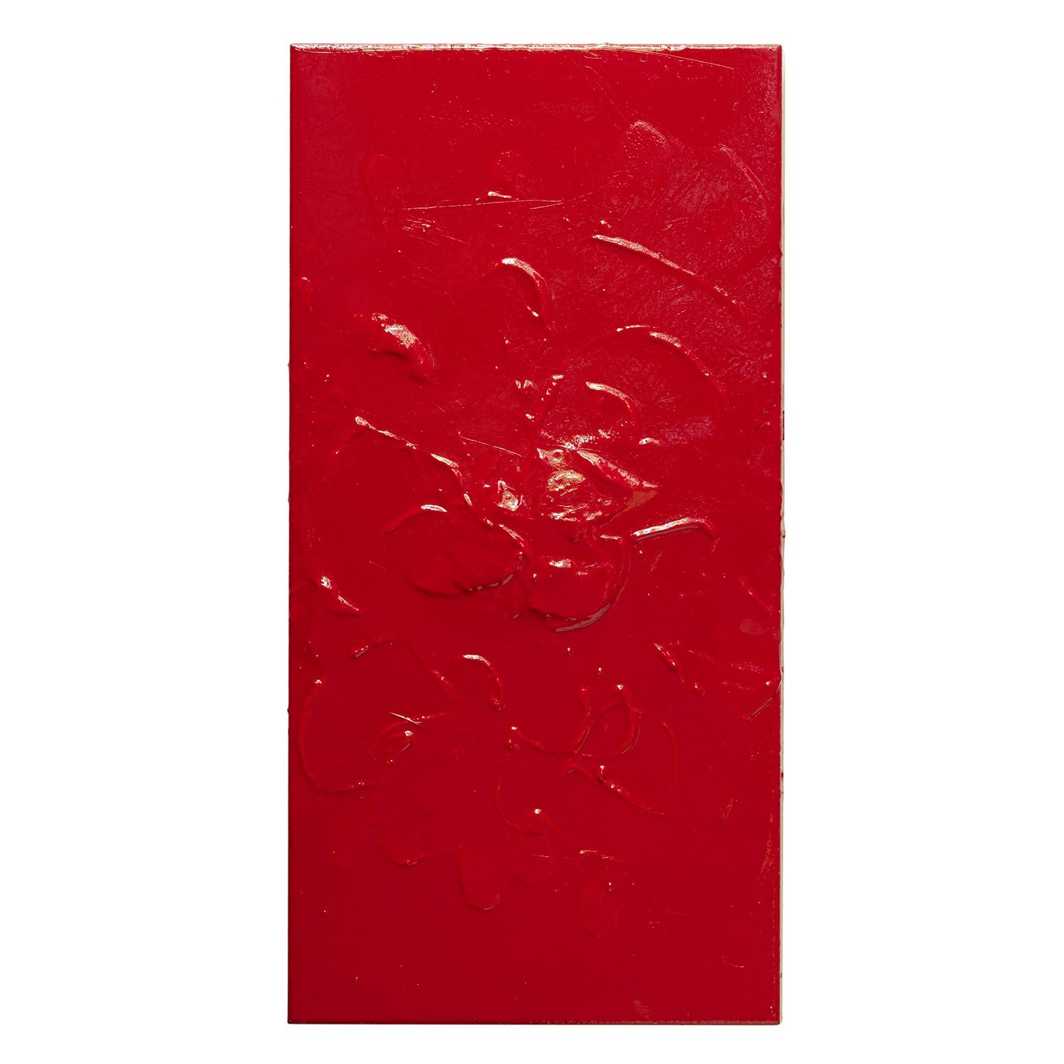 """Red #434, 18"""" x 36"""""""