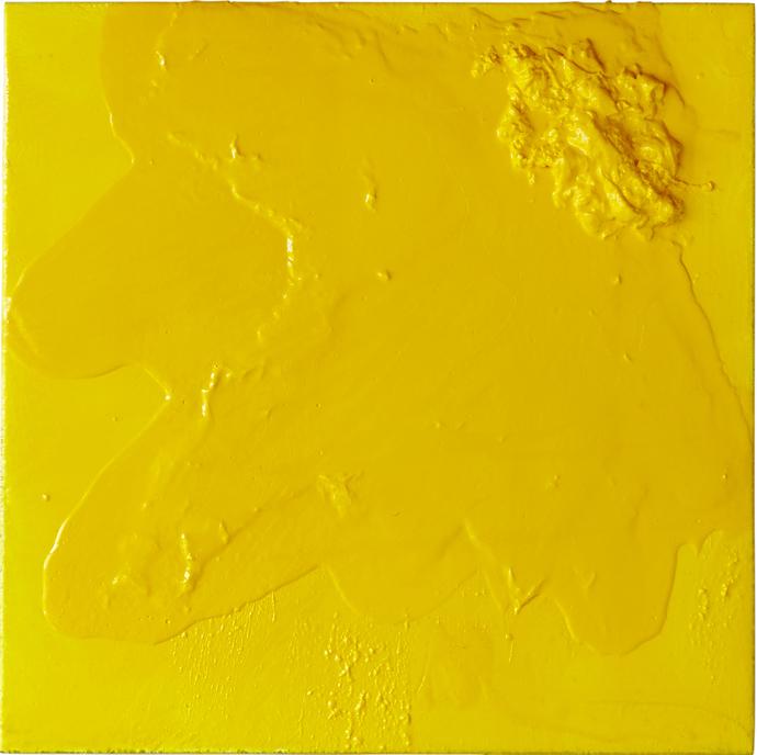 """Yellow #442, 30"""" x 30"""""""