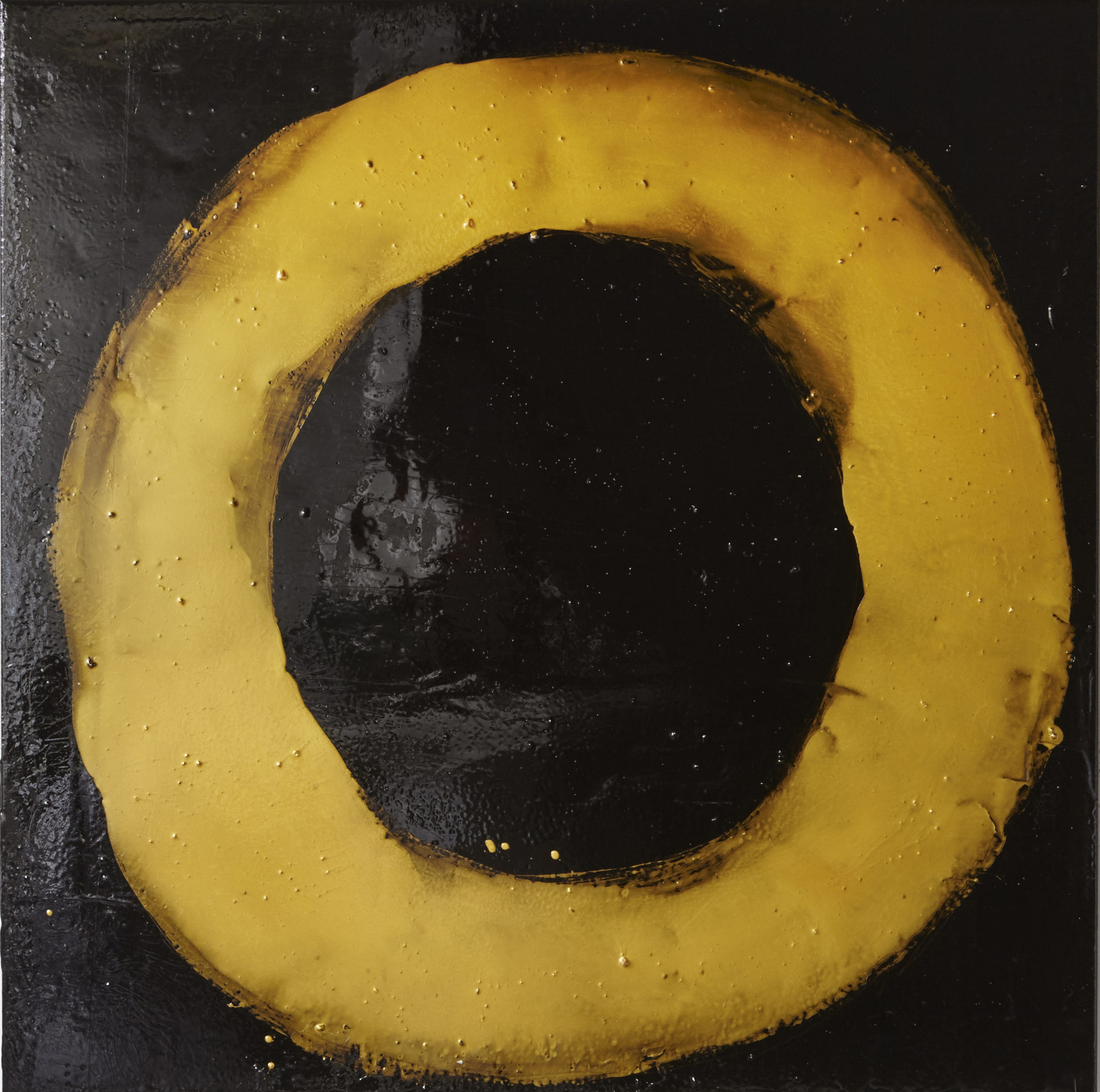 """This is a one off piece inspired by the natural phenomenon that are eclipses.  53"""" x 53"""""""