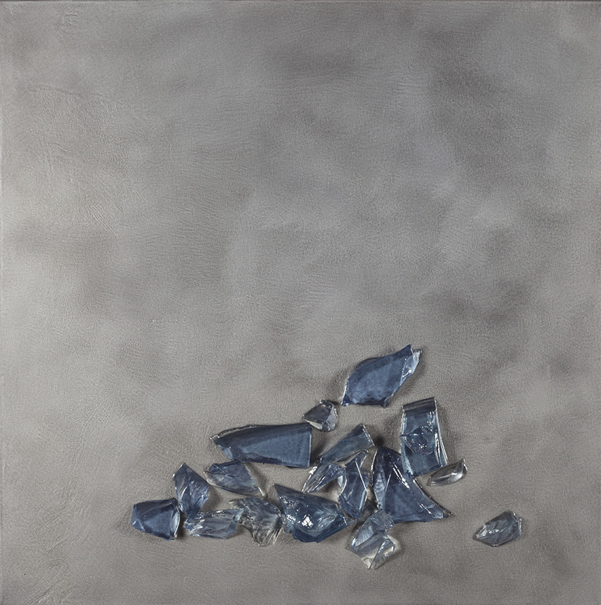 """Part of the Ice on Ice Series  41"""" x 41"""""""