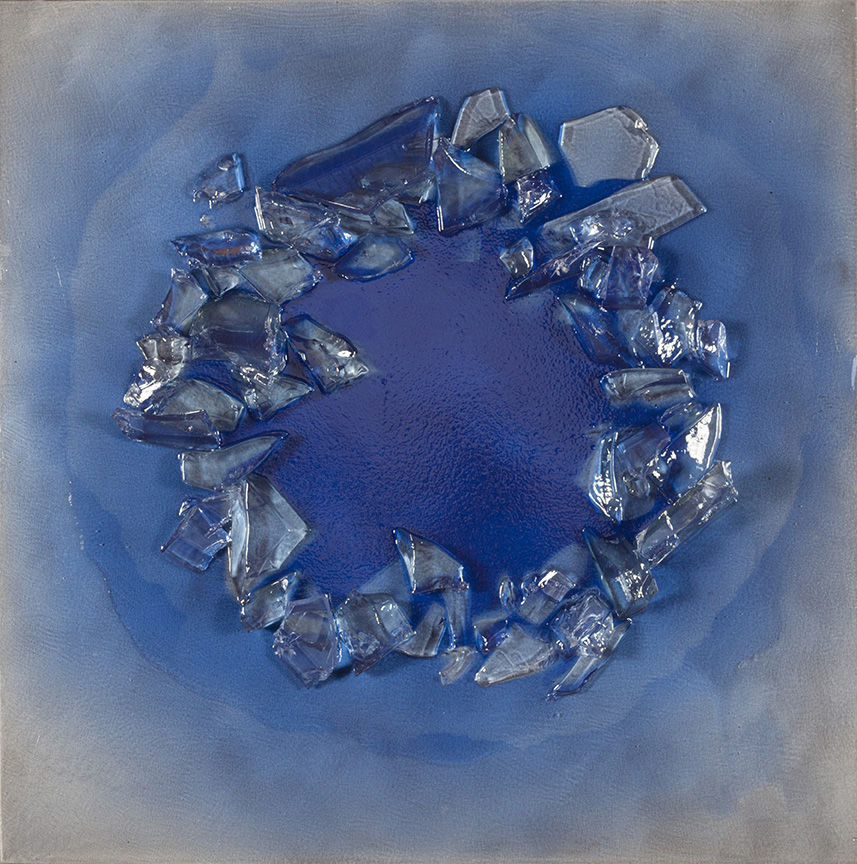 """Part of the Ice on Ice Series  42"""" x 42"""""""