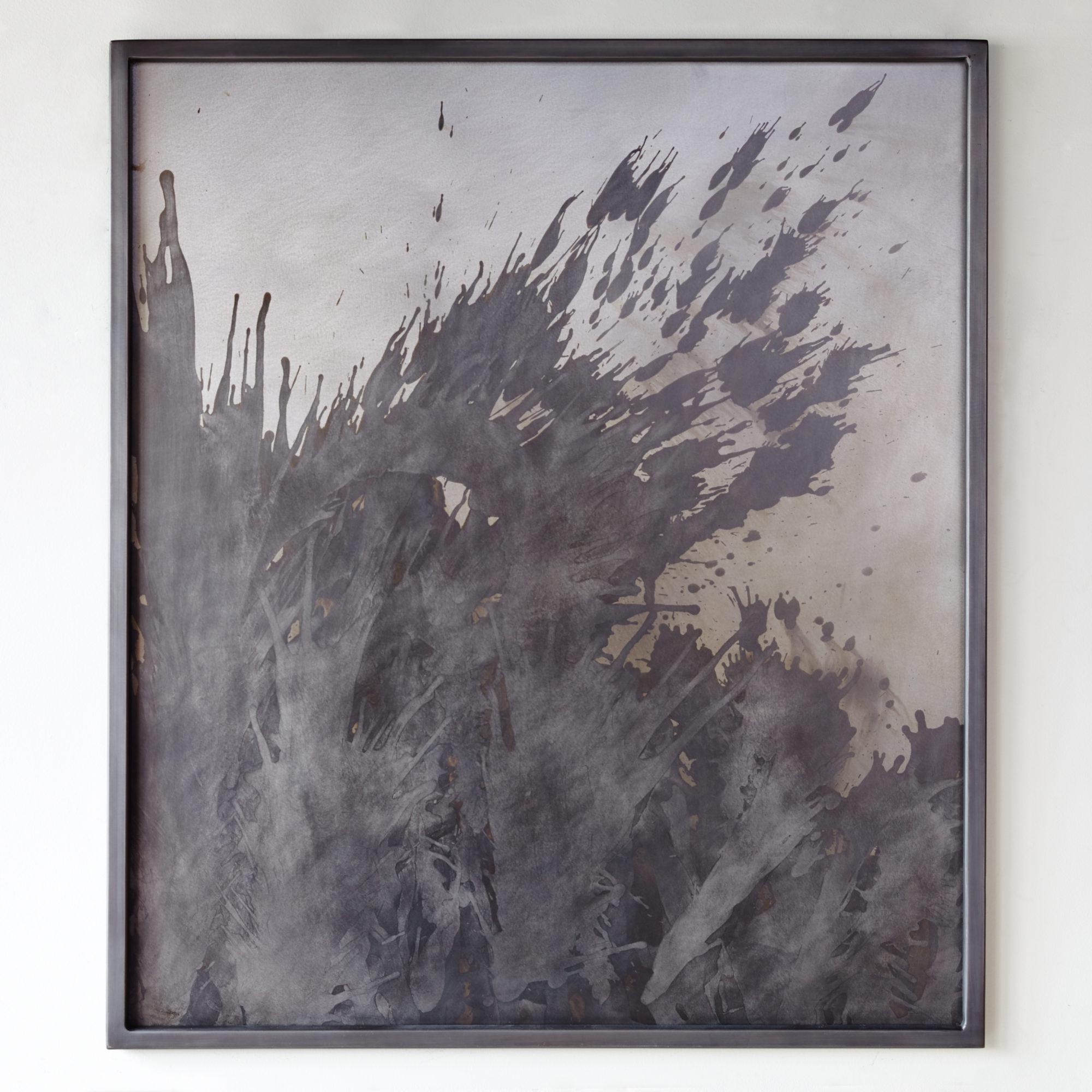 "Acid on Steel framed 48"" x 41"""