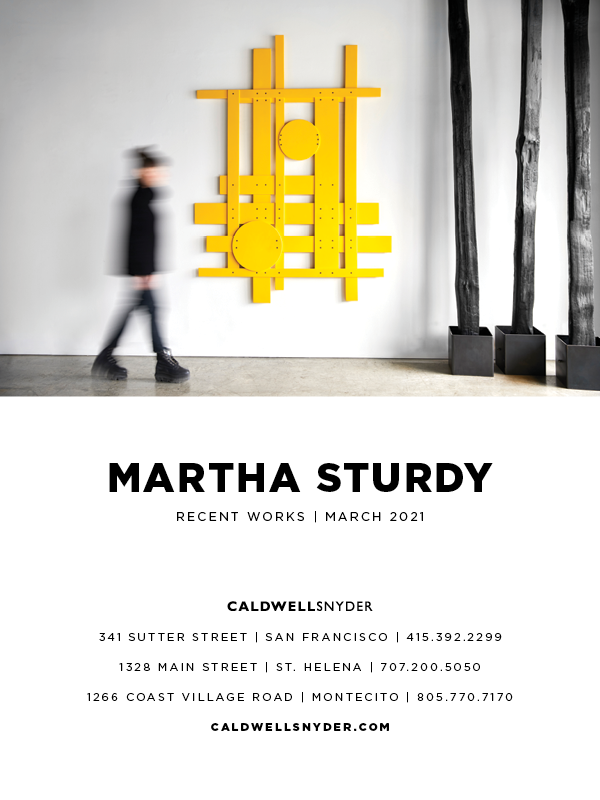 martha sturdy recent works March 2021